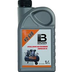 Brown Compressor olie 1L ISO68