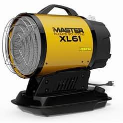 Master infrarood diesel verwarming XL61 17KW