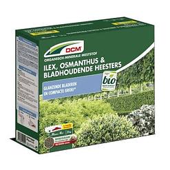DCM Ilex, Osmanthus & Bladhoudende Heesters meststof NPK 7-3-6 +2MgO 3kg