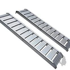 Aluminium oprijplaten recht 200cm tot 1600kg/paar