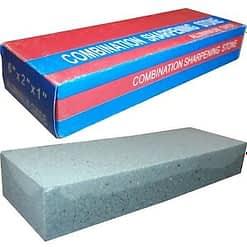 Combination sharpening stone aluminium oxide