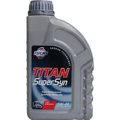 Fuchs Titan super syn 5W40 motorolie 1L