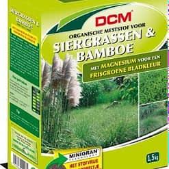 DCM Siergrassen & Bamboe meststof NPK 7-4-10 1,5kg