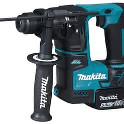 Makita DHR171RTJ SDS+ boorhamer 18V LXT brushless motor Incl. 2x 5.0Ah accu, snellader en MAKPAC