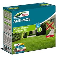 DCM ANTI-MOS NPK 14-3-3 +3MgO +Fe + werking tegen mos Meststof 3kg - 60m²