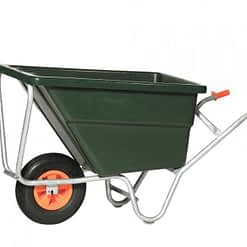 Altrad kruiwagen 170L Diepe Bak met 1 wiel GV28LZ0PB