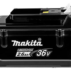 Makita 36V Battery pack - 2x Accu BL3626 36V 2,6Ah + Oplader DC36RA