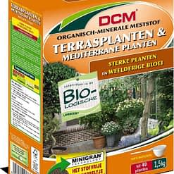 DCM Terrasplanten & Mediterrane planten meststof NPK 8-5-6 1,5kg