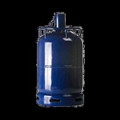 Gas Butaan B13 12,5kg Antargaz, blauwe fles