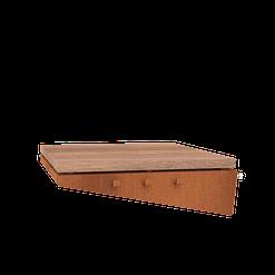 Forno zijtafel uitbreiding Hout BFC10.2